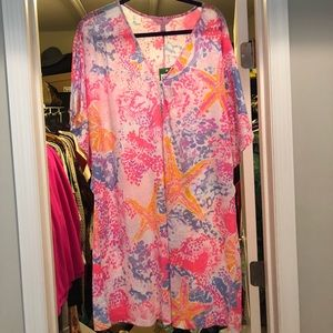 NWT Lily Pulitzer Balleta Coverup
